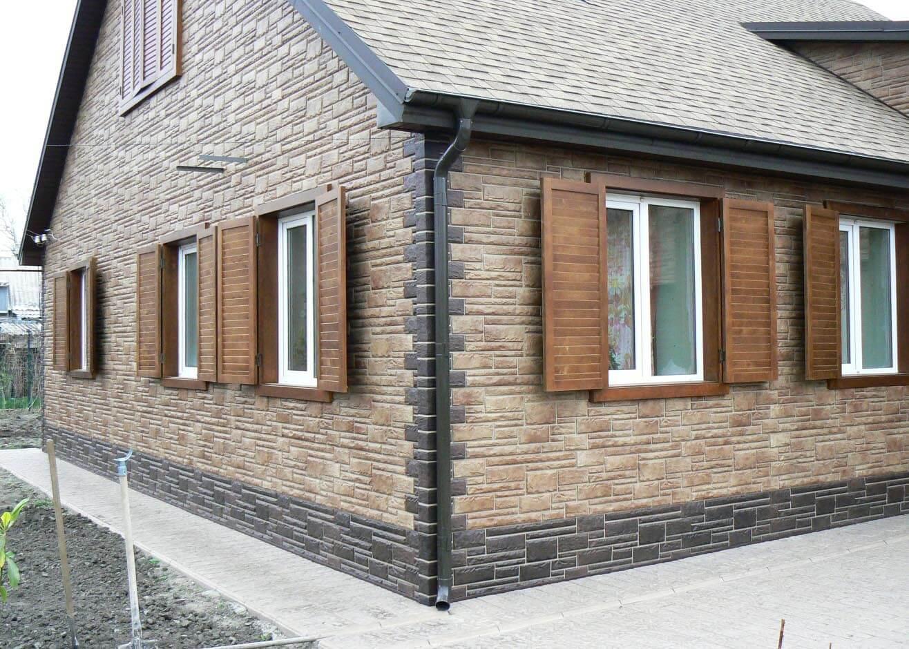 преимущества фасадных панелей под кирпич